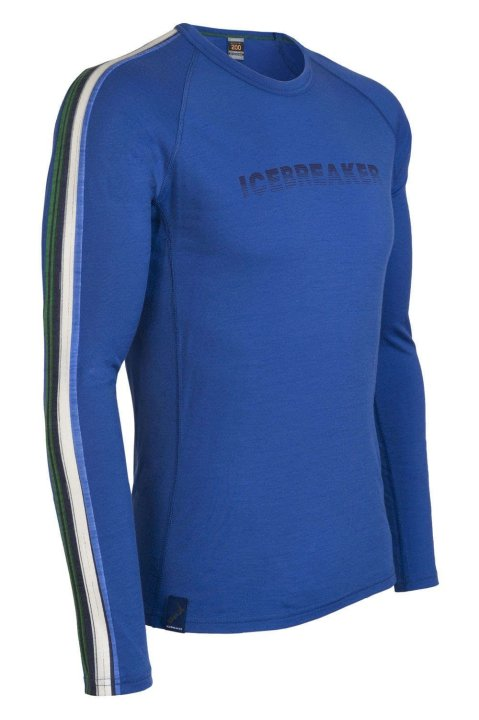 Icebreaker BODYFIT+200 Oasis Crewe Gradient for men