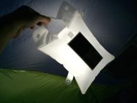 luminAID solar powered inflatable light