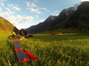 Powermonkey Extreme solar-powered battery