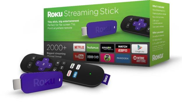 Streaming Device-The Roku Streaming Stick great for wall mounted TVs