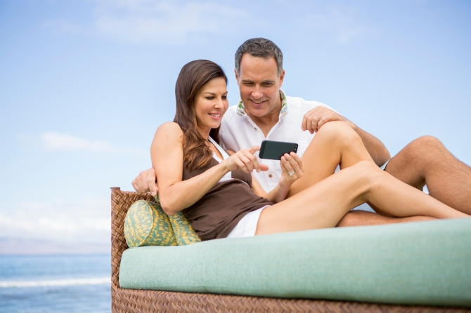 OGGSK_P057 Beach Lounger Smartphone