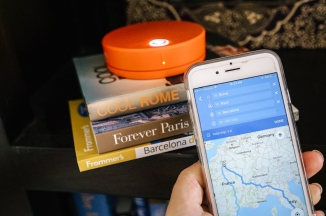 Skyroam Solis -8 - travel planning and maps